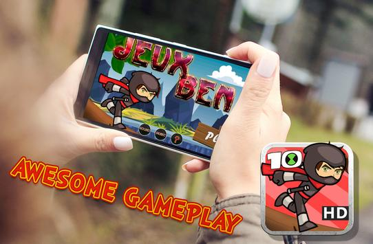 Ben Adventure Ninja 10 apk screenshot