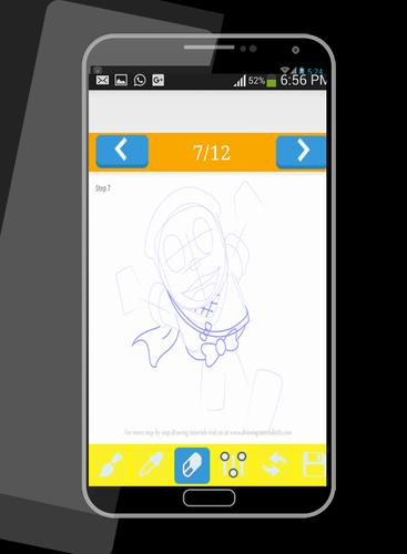 learn to draw Ninja Hattori for Android - APK Download