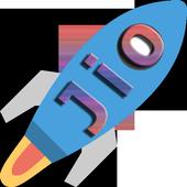 Increase jio 4g speed icon