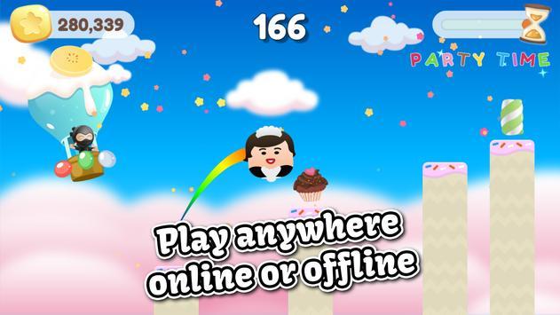Jump Birthday Party Ninja apk screenshot