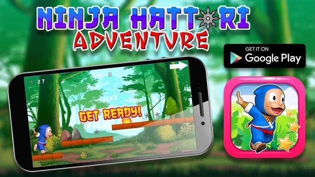 Hatori Adventure : Ninja Run poster