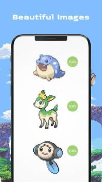 Color by Number - Pokees screenshot 1