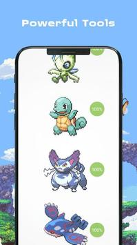 Color by Number - Pokees screenshot 2
