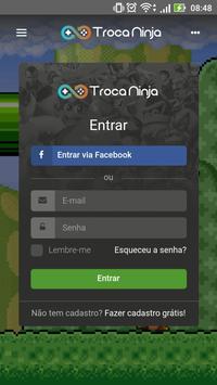 TROCA.NINJA poster
