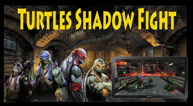 Turtles shadow fight screenshot 1