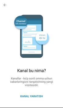 Ўзбек Телеграми (Норасмий) скриншот 3