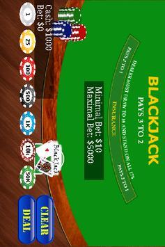 BlackJack apk screenshot