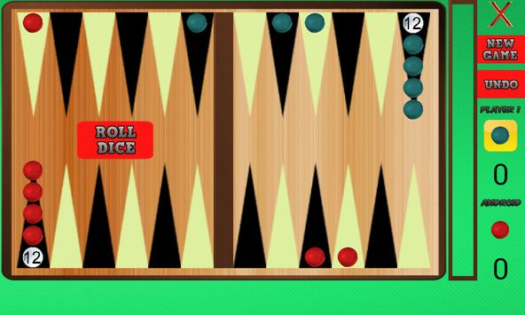 Narde – Backgammon Two Player Games screenshot 1