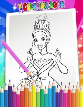 How To Color Disney Princess screenshot 6
