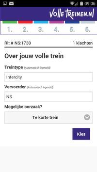 Meldpunt Volle Treinen apk screenshot