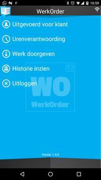 WerkOrder poster