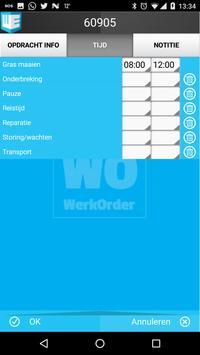 WerkOrder screenshot 3