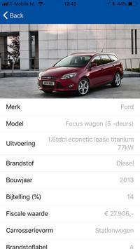 Van Mossel Autolease screenshot 2