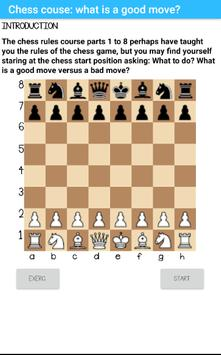 Course: good chess opening moves (part 1) poster