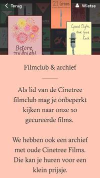Cinetree apk screenshot