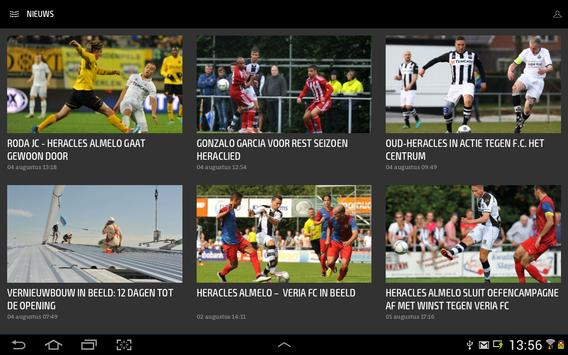 HERACLES ALMELO LIVE screenshot 5