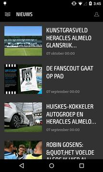 HERACLES ALMELO LIVE screenshot 1