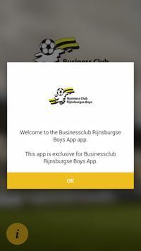Businessclub Rijnsburgse Boys App poster