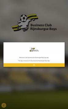 Businessclub Rijnsburgse Boys App screenshot 2