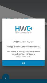 HWC Uitzendorganisatie poster