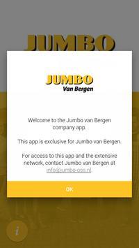 Jumbo Van Bergen poster