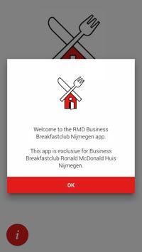 RMD Business Breakfastclub Nijmegen poster