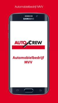 Automobielbedrijf MVV poster
