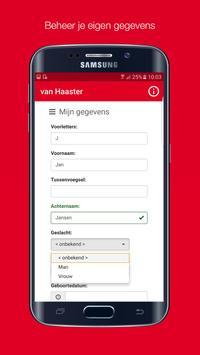 Van Haaster apk screenshot
