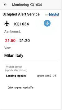 Schiphol Airport Alert apk screenshot
