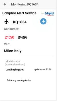 Schiphol Airport Alert screenshot 1