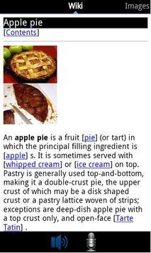 Wikipedia Voice Search screenshot 1