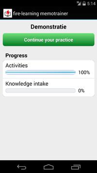 fire-learning memotrainer apk screenshot
