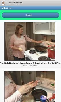 Turkish Recipes screenshot 1