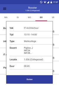 Rooster voor Stenden Emmen screenshot 1