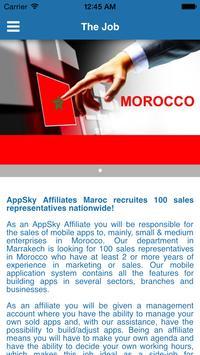 AppSky Affiliates Maroc screenshot 1