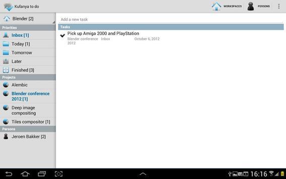 Kufanya todo (lite) apk screenshot