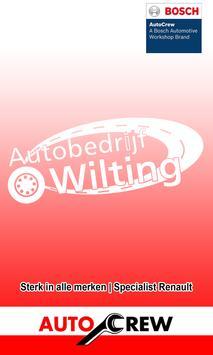 Autobedrijf Wilting poster