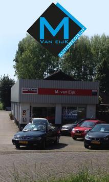 Autobedrijf M. van Eijk poster