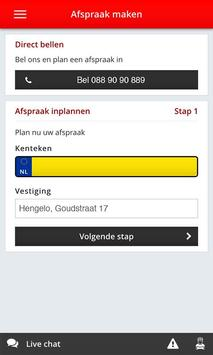 Autoservice van de Zande screenshot 2