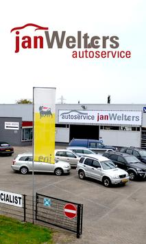 Autoservice Jan Welters poster
