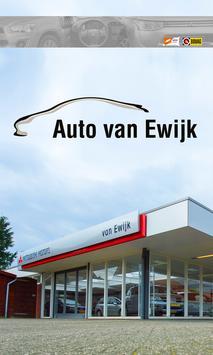 Auto van Ewijk poster