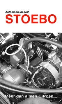 Stoebo Automobielbedrijf poster