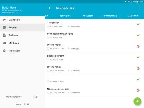 OverAll CRM apk screenshot