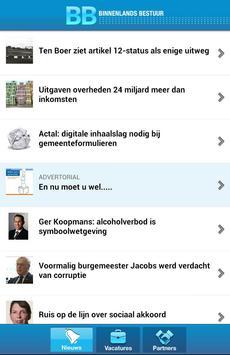 Binnenlands Bestuur Nieuws apk screenshot
