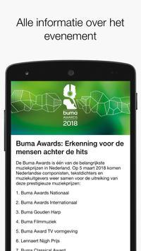 Buma Awards screenshot 1
