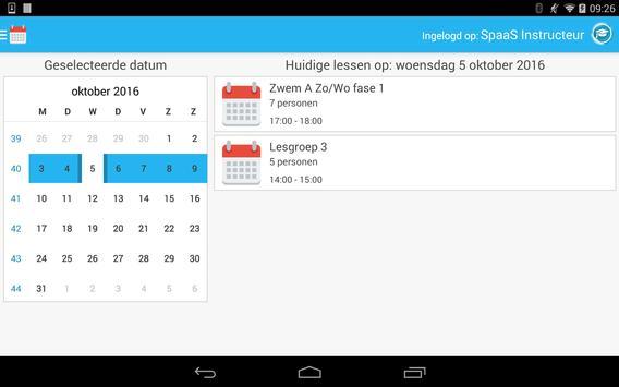 Spaas Instructeurs screenshot 1