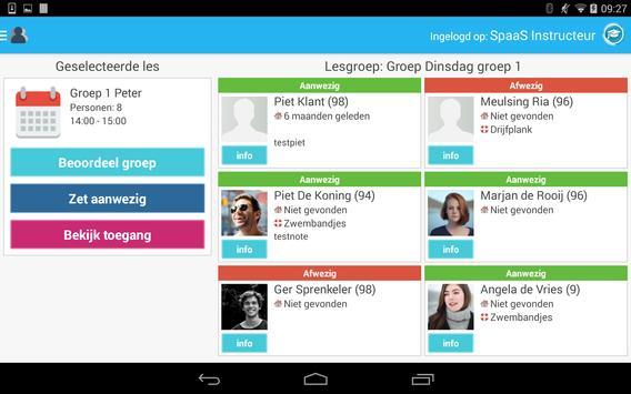 Spaas Instructeurs screenshot 2