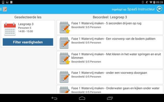 Spaas Instructeurs screenshot 4