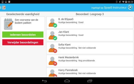 Spaas Instructeurs screenshot 5