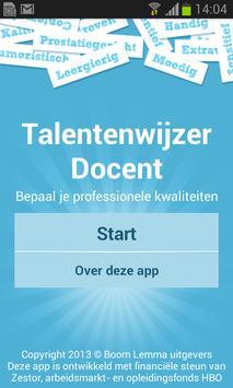 Talentenwijzer Docent poster